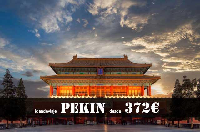 Vuelos a Pekin