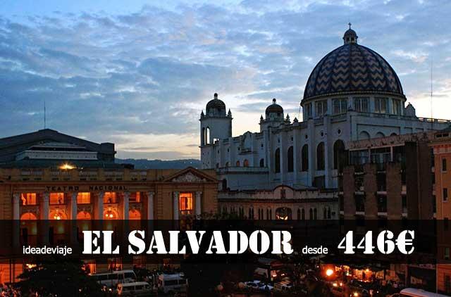 Vuelo barato El Salvador