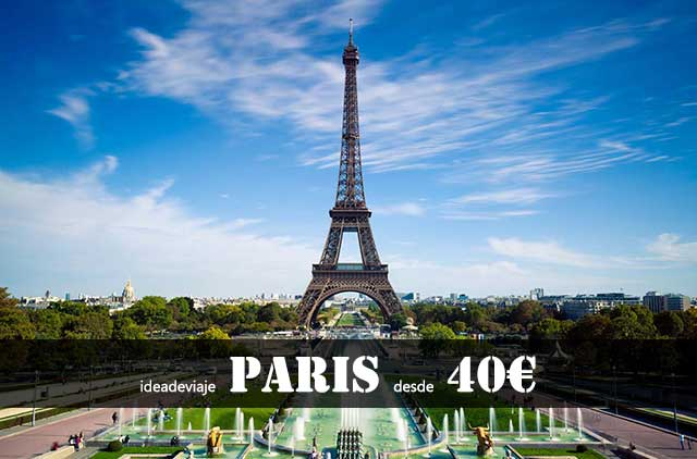 Vacaciones Paris
