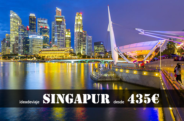 Vuelos barato a Singapur